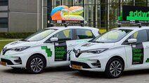 Blog - Nieuwe Renault Zoe rijdt record aantal emissievrije kilometers tijdens Dutch Design Week 2019
